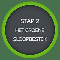 stap 2 groene sloopbestek
