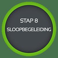 stap 8 sloopadvies werkwijze